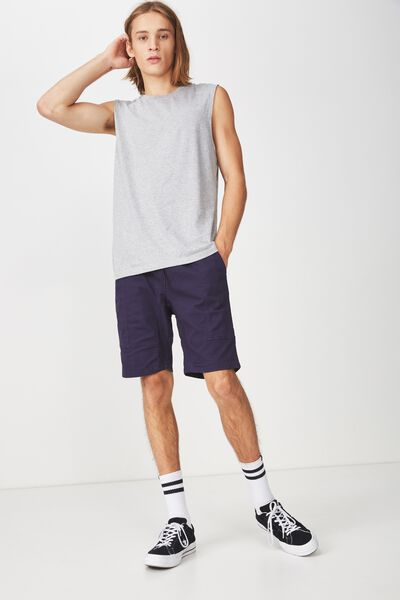 Sport Muscle T Shirt., GREY MARLE