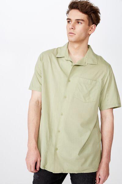 Resort Shirt, WASHED OLIVE
