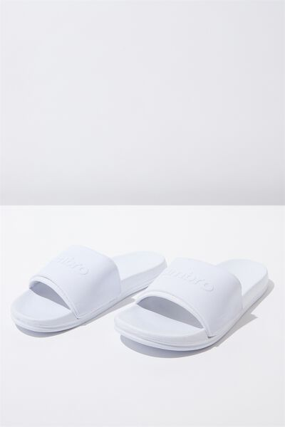 Umbro Neo Slide, WHITE