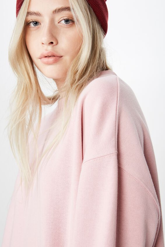 Oversized Crew Neck Sweater, ZEPHYR