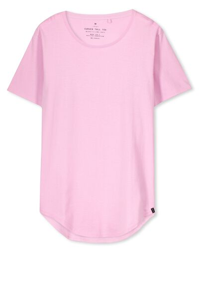 The Curved Tall Tee, PASTEL LAVENDER