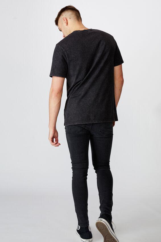 Super Skinny Jean, WASHED BLACK
