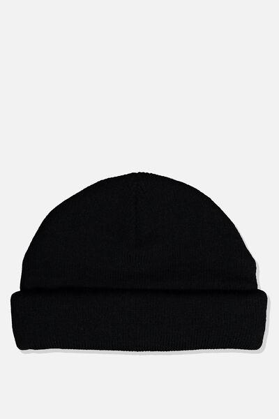 Docker Beanie, BLACK