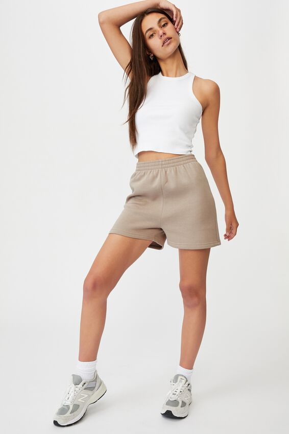 Hype Fleece Short, ETHEREA