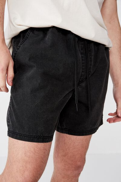 Boulevard Short, WASHOUT BLACK