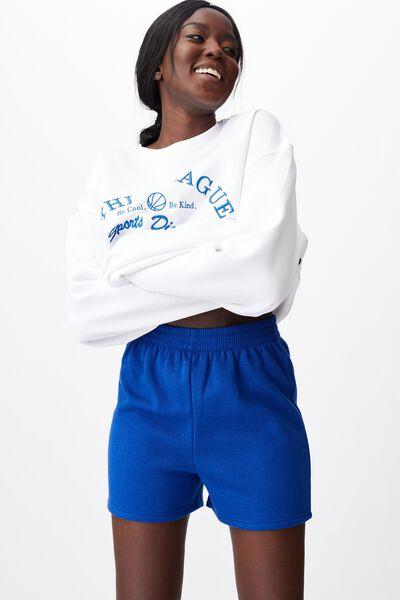 Hype Fleece Short, MAZARINE BLUE