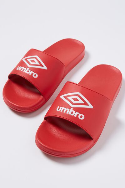 Umbro_Logo Slide, RED