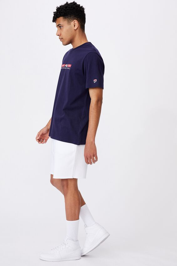 Fila Lcn International T Shirt, NAVY/EST 1911