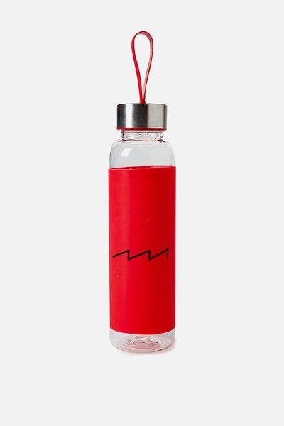 Silicone Drink Bottle, LYCHEE