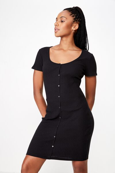 e535f5c01dee Women's Black Dresses, Casual & Cocktail | Cotton On