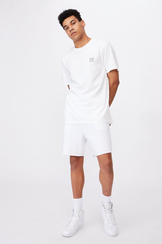 Regular Fct T Shirt, WHITE/STACK LOGO