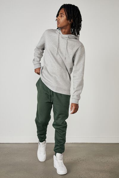 Basic Track Pant, FOREST PINE