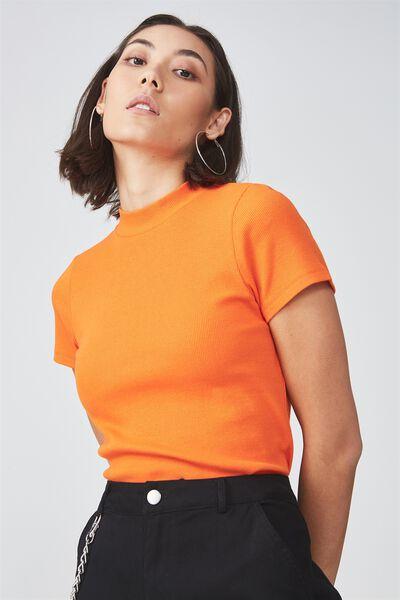Short Sleeve Ribbed Tshirt, PUFFINS BILL
