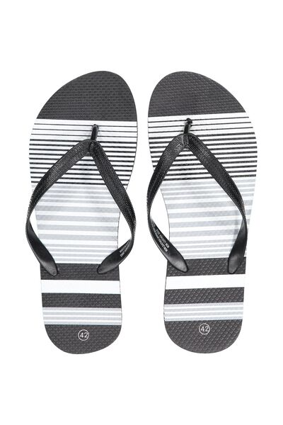 Urban Flip Flop, STRIPE_BLACK/WHITE