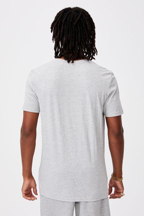 Slim T Shirt., LIGHT GREY MARLE