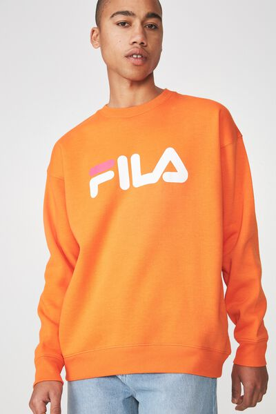 Fila Crew Sweater Large Logo, PUFFINS BILL