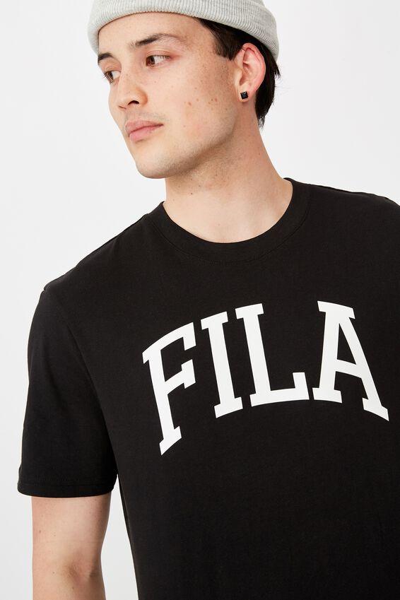 Fila Lcn Regular Graphic T Shirt, BLACK/COLLEGIATE
