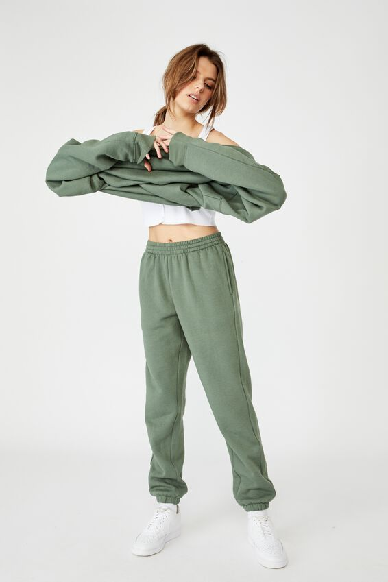 Classic Trackpant, FOREST KHAKI