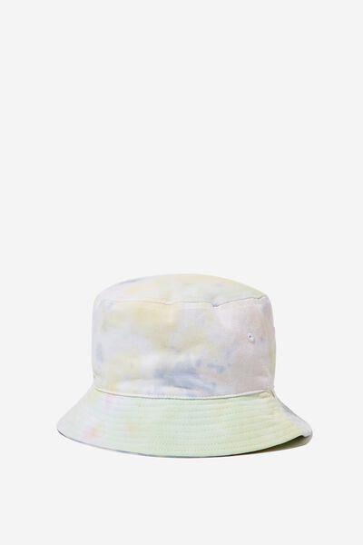 Bucket Hat, TYE DYE_PASTEL