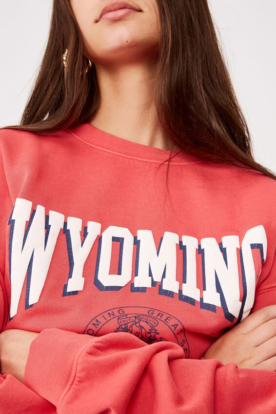 Os Graphic Crew 1, WASHED RED APPLE/WYOMING