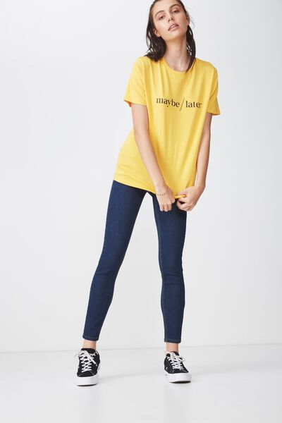 The Mid-Rise Skinny Jean 2, TRUE BLUE