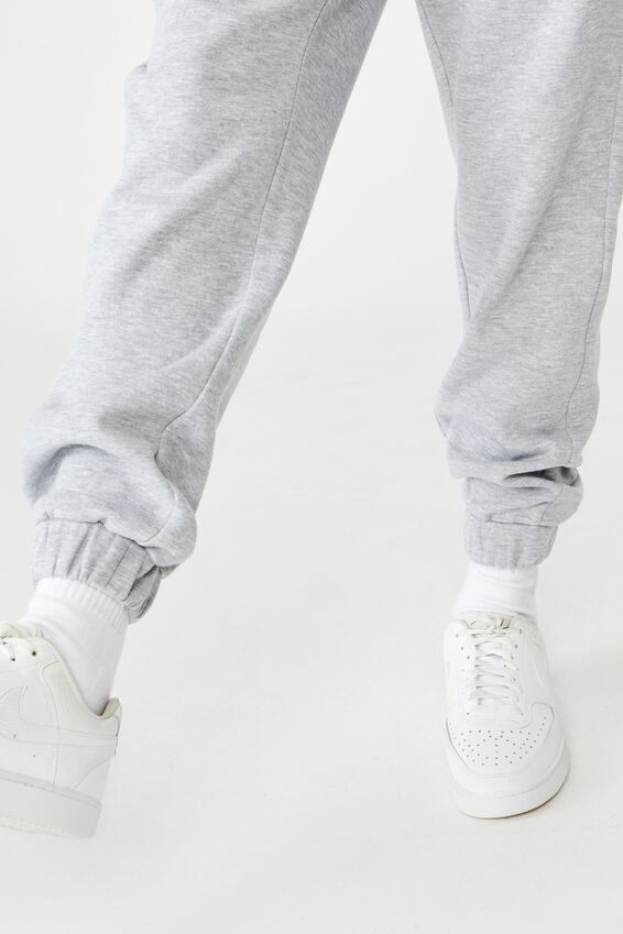 Super High Rise Trackpant, GREY MARLE