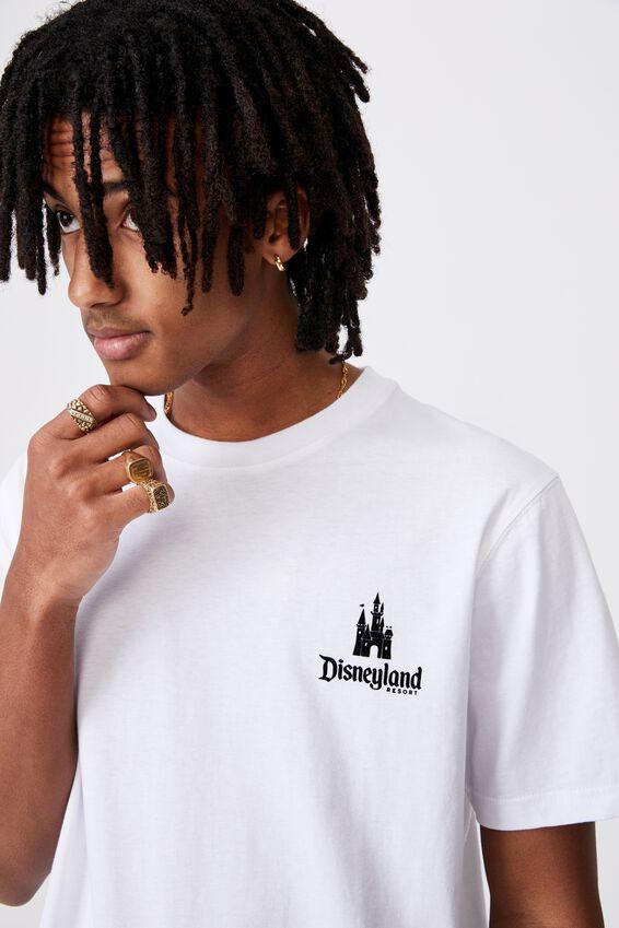 Disney License Tee, LCN DIS WHITE/DISNEY CASTLE