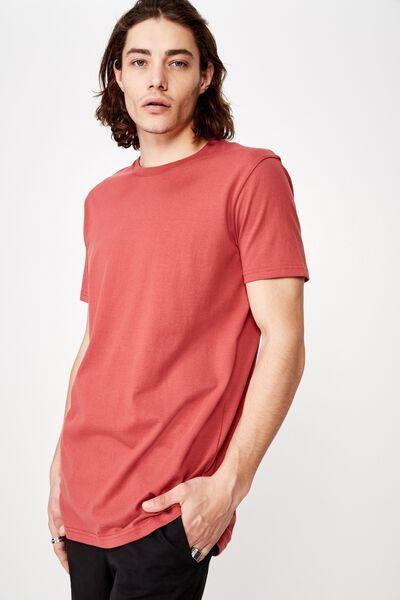 Longline T Shirt, AUBURN