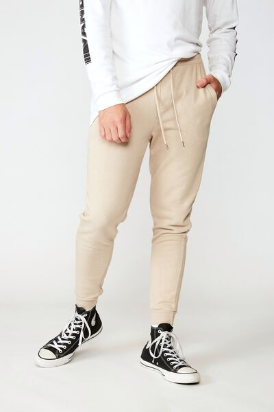 Basic Track Pant, OXFORD TAN