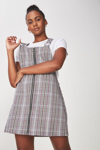 Zip Front Dress 2, JOANNA CHECK