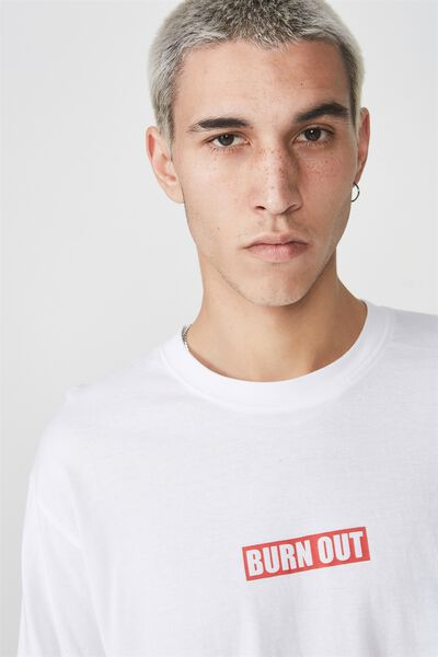 Ls Graphic T Shirt, SULPHUR SPRING/SBTRCT