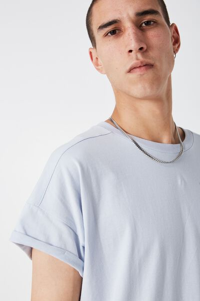 The Cap Tee, HEATHER