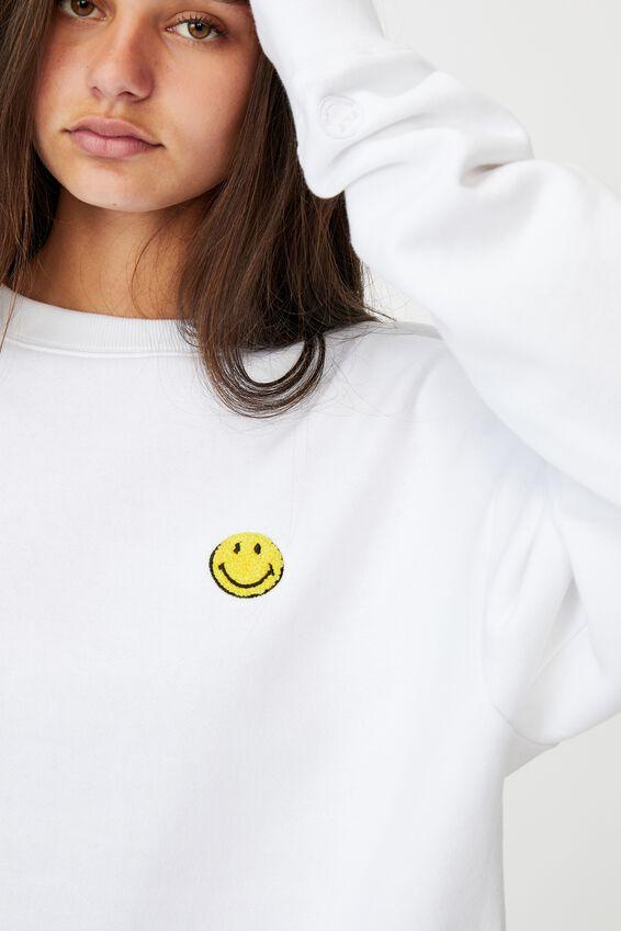 Smiley License Crew, WHITE