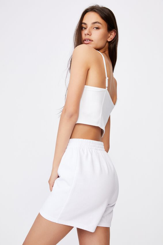 Bustier Cami, WHITE
