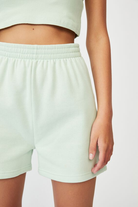 Hype Fleece Short, CELADON
