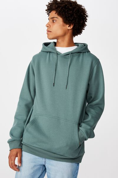 Basic Hoodie, FOREST GREEN