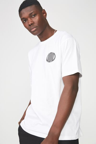 Graphic T Shirt, WHITE/SPIN THE VOID