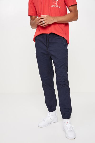 Utility Cuffed Pant, PEACOAT  NAVY
