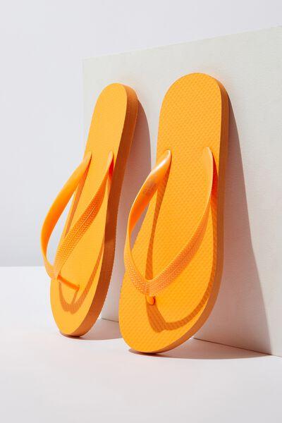 Flip Flop, NEON ORANGE