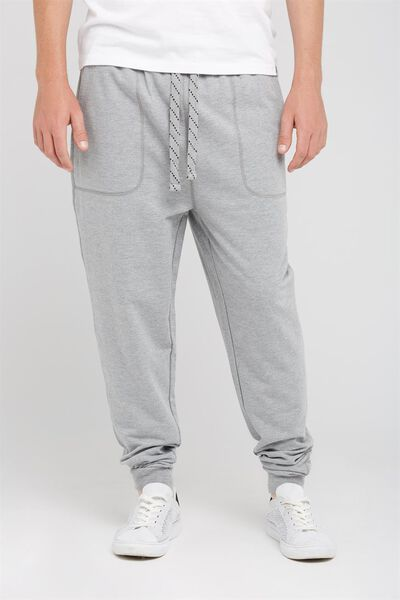 College Trackie, GREY MARLE - OTS