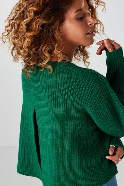 Camilla Knit, EVERGREEN