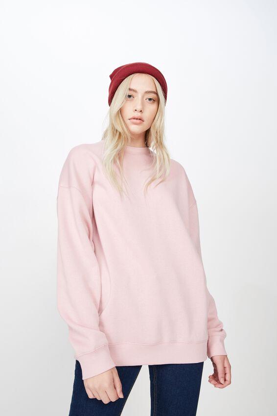 Oversized Crew Neck Sweater, ZEPHYR