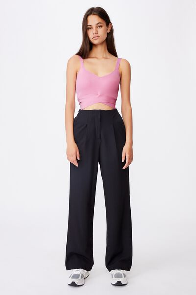 Tailored Pant, BLACK