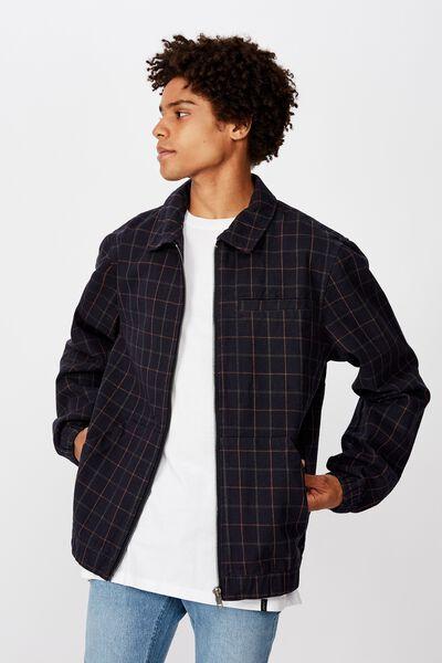 Harrington Jacket, CHECK