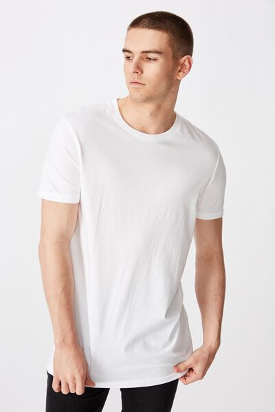 The Tall Tee, WHITE