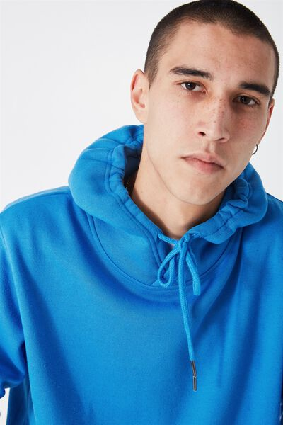 Plain Hoodie, FRENCH BLUE