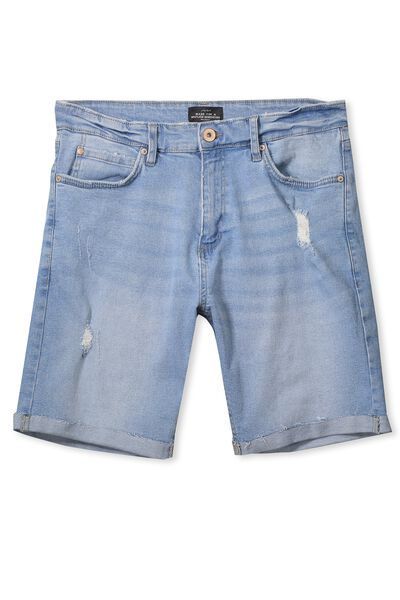 The Cornell Short, WASHED BLUE