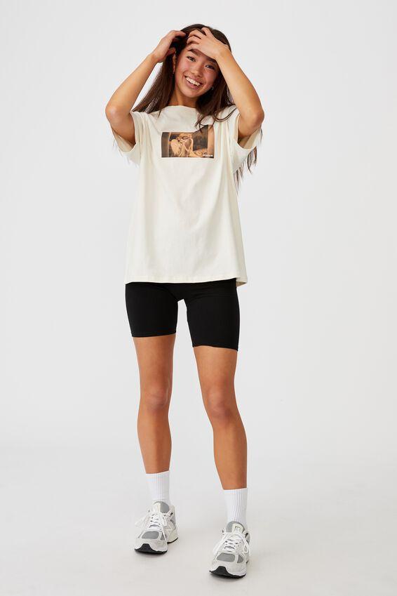 Regular License T Shirt, LCN MIR IVORY/DREW