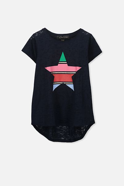 Free Active Tee, TOTAL ECLIPSE/STRIPE STAR