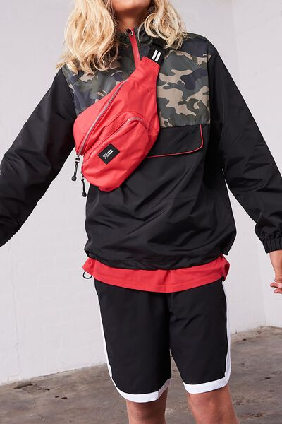 Crossbody Sports Bag, RACING RED